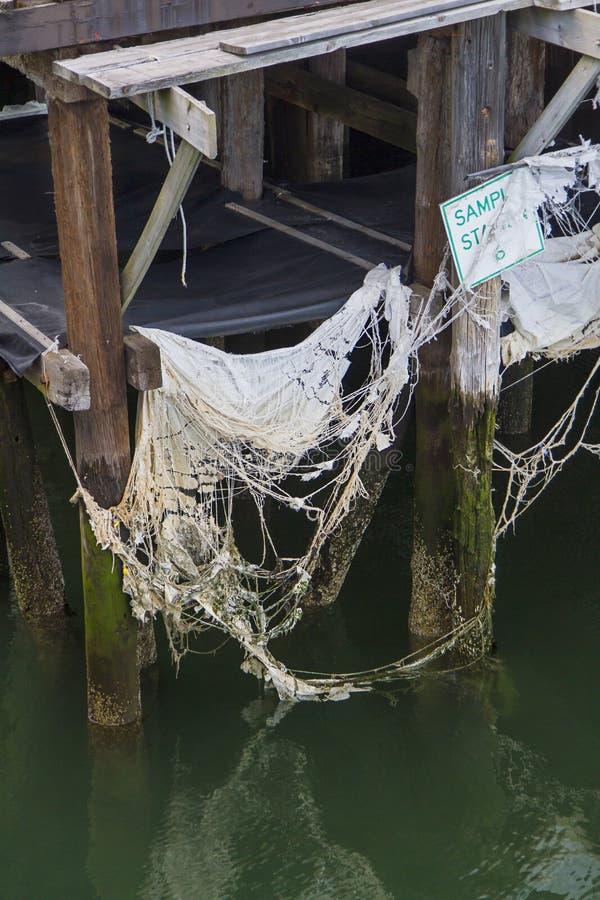 摒弃码头 免版税图库摄影