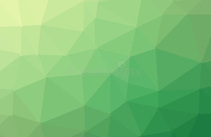 摘要五颜六色的几何多角形抽象背景 库存例证