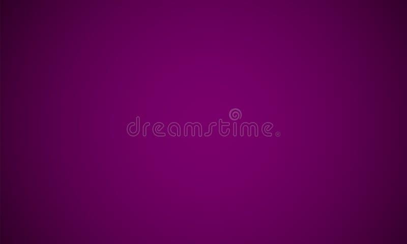 摘要光黑暗的紫色梯度颜色背景 r 皇族释放例证