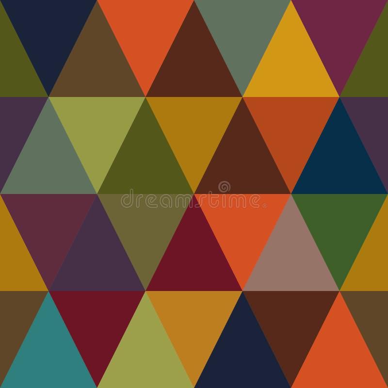 摘要几何无缝的样式,纺织品设计的,织品prin秋天表面样式背景重复样式 向量例证