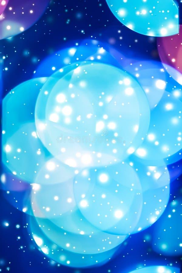 摘要宇宙满天星斗的天窗和发光的闪烁,豪华假日背景 皇族释放例证