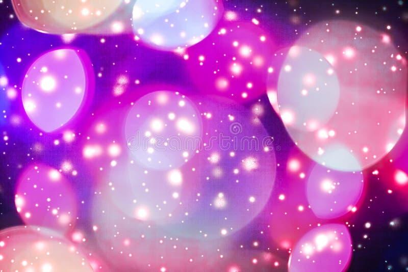 摘要宇宙满天星斗的天窗和发光的闪烁,豪华假日背景 向量例证