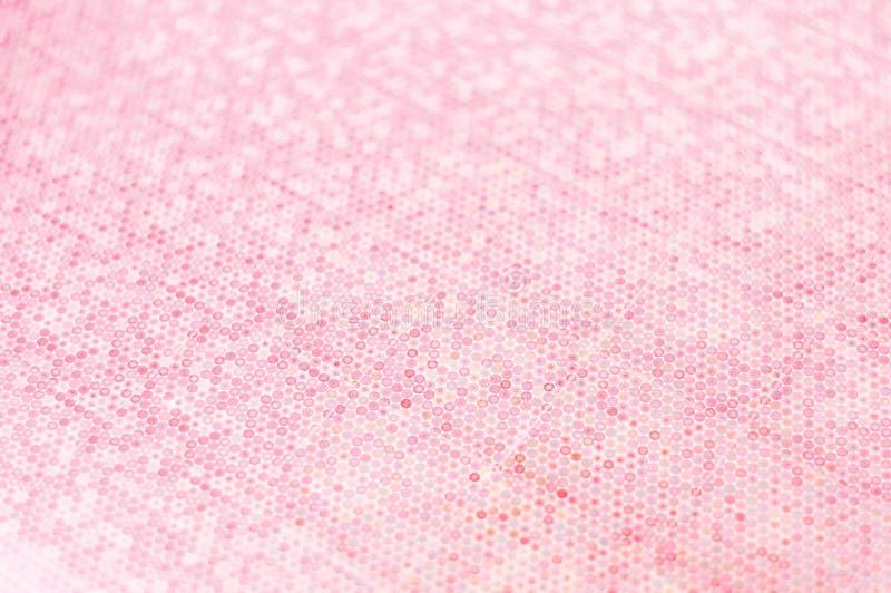 摘要弄脏了与小景深的桃红色口气背景 图库摄影