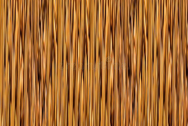 摘要排行背景黑暗的金黄垂直条纹光芒被构造的样式,树干的作用 免版税库存图片