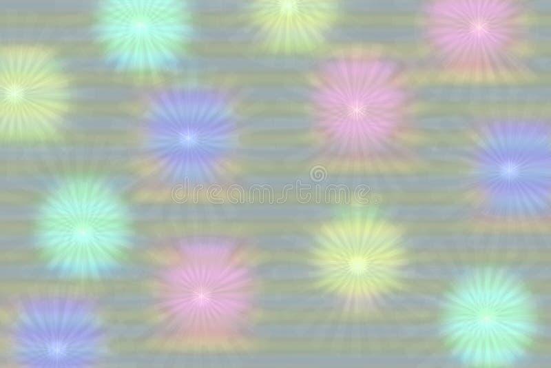 摘要欢乐五颜六色的被弄脏的光和线假日、节日或者新年设计的背景纹理 库存例证