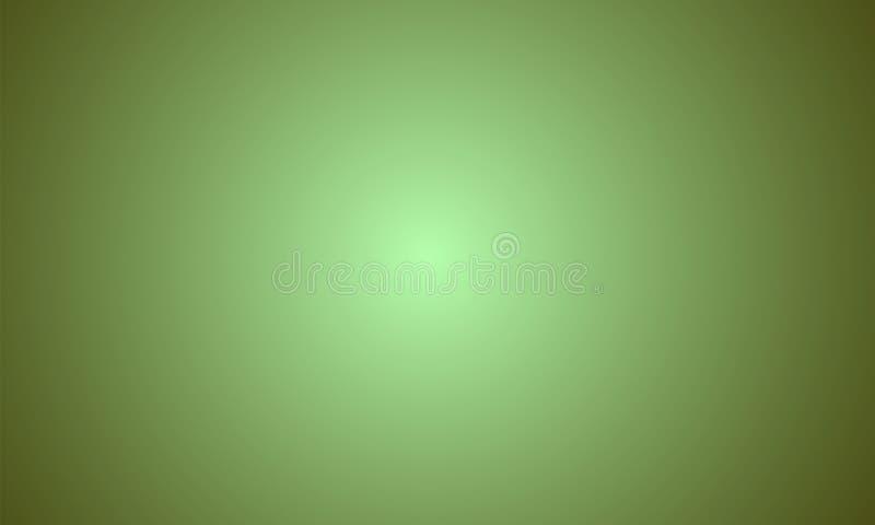 摘要浅绿色的黑暗的黄色梯度颜色背景 r 向量例证