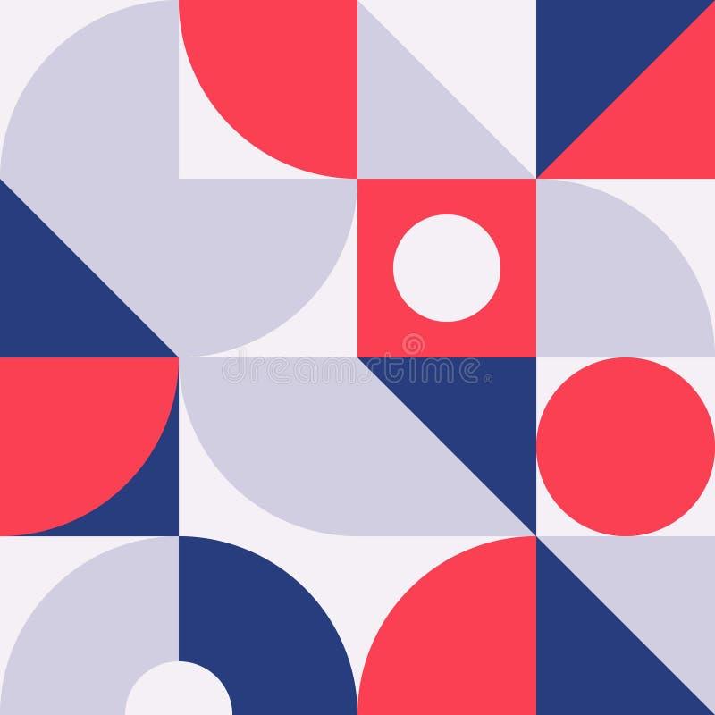 摘要现代几何背景 库存例证