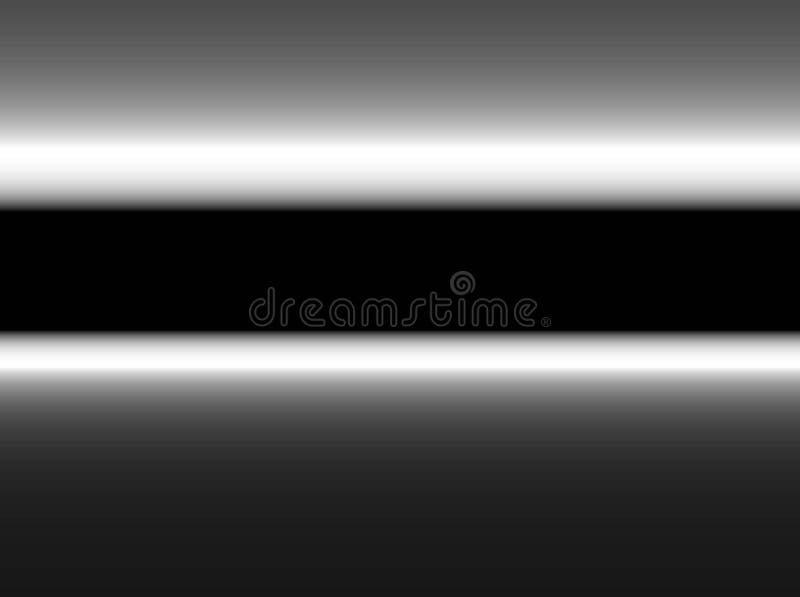 摘要现代金属梯度黑灰色颜色掠过的背景 库存例证