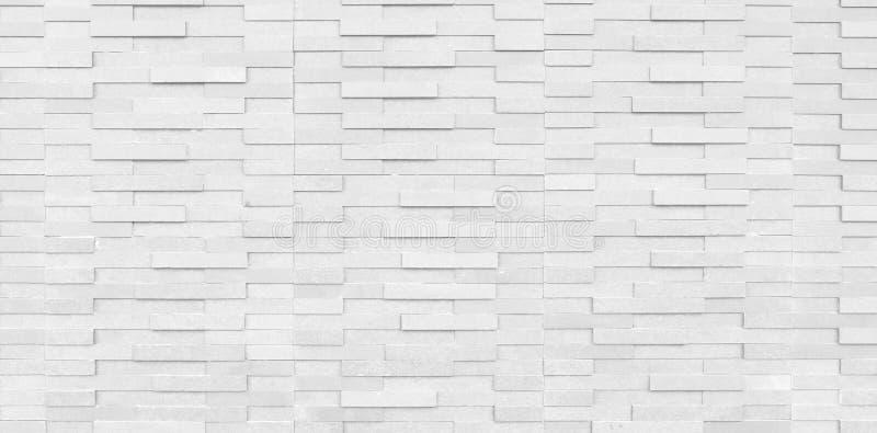 摘要白色干净的结构砖墙 olid表面 图库摄影