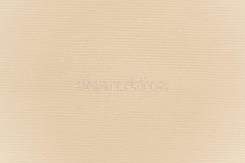 摘要米黄纸纹理背景 免版税库存照片