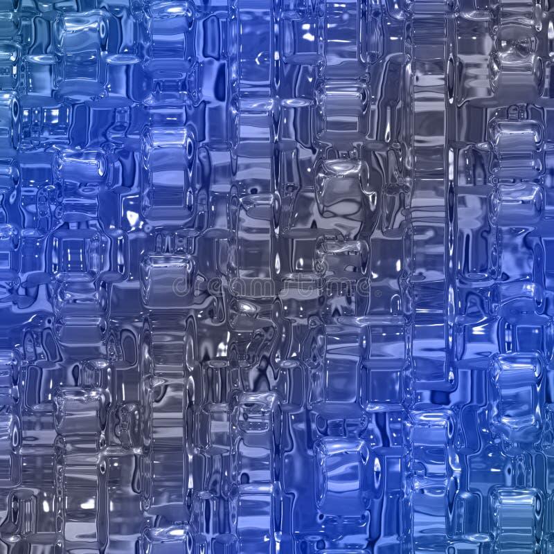 摘要美妙的玻璃背景样式 库存例证