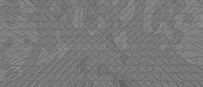 摘要背景灰色线几何三角 库存照片