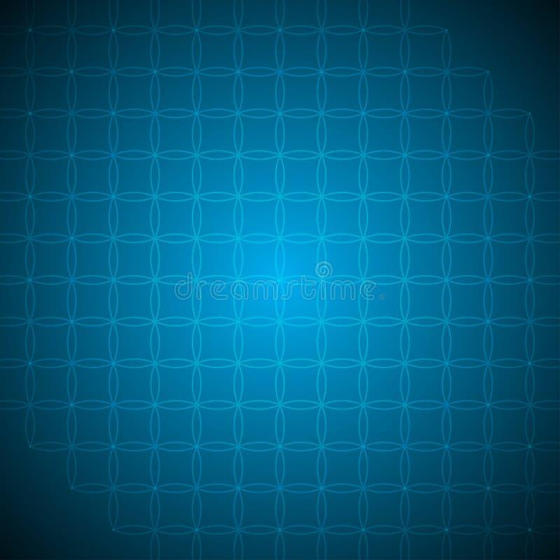 摘要背景蓝色样式图片传染媒介例证 向量例证