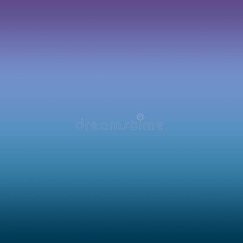 摘要蓝色紫外被弄脏的梯度最小的背景 皇族释放例证