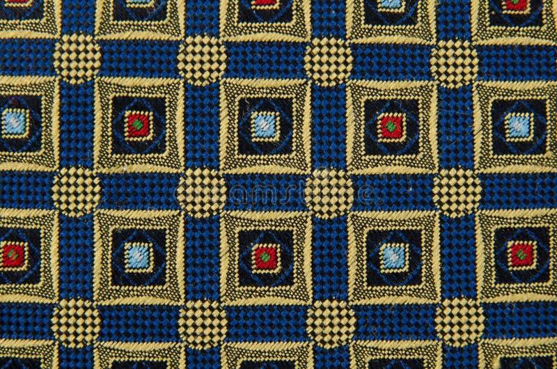 摘要被装饰的模式纺织品 库存照片