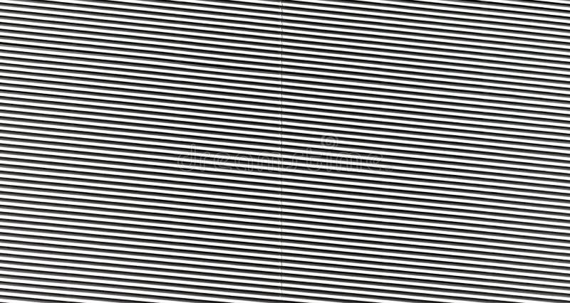 摘要黑白镶边墙壁样式关闭 免版税库存图片