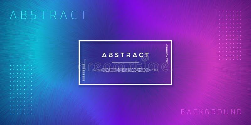 摘要,动态,现代背景您的设计元素的和其他,与紫色和浅兰的梯度颜色 向量例证