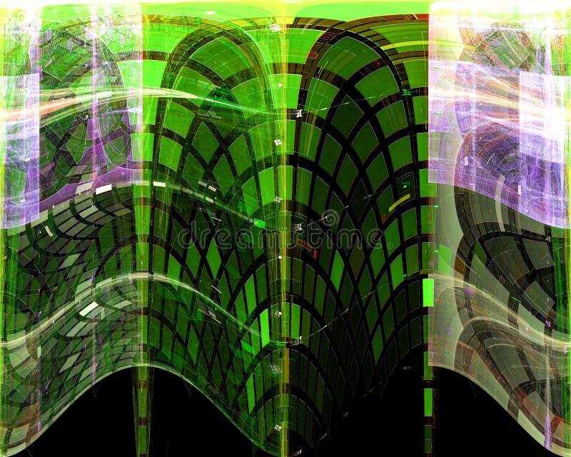摘要,幻想,图表数字纹理梦想构思设计能量背景,分数维,力量科学 向量例证