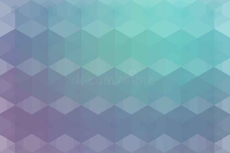 摘要pixelated样式多色背景 向量例证