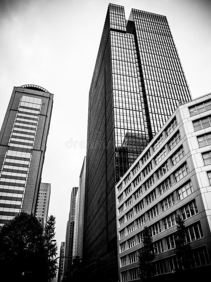 摩天大楼在东京 库存图片