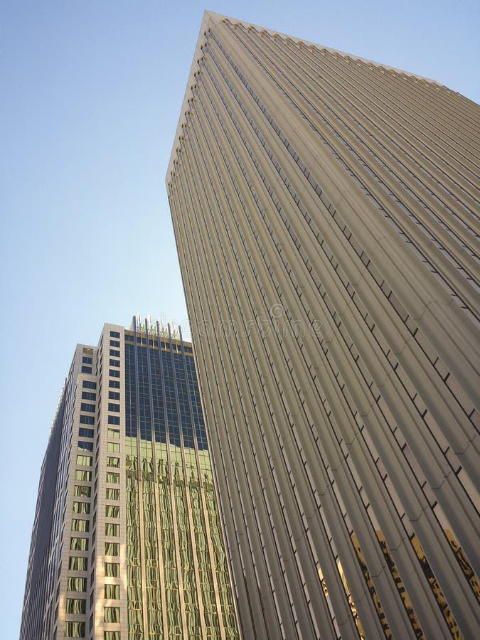 摩天大楼在夏洛特北卡罗来纳 库存照片