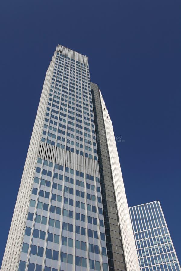摩天大楼在法兰克福 图库摄影