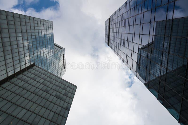 摩天大楼在特拉维夫 免版税库存图片
