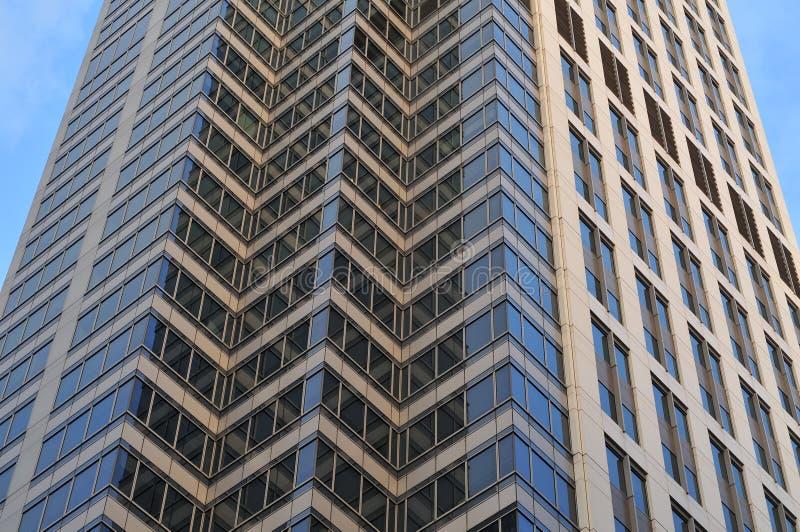 摩天大楼外墙 免版税库存图片
