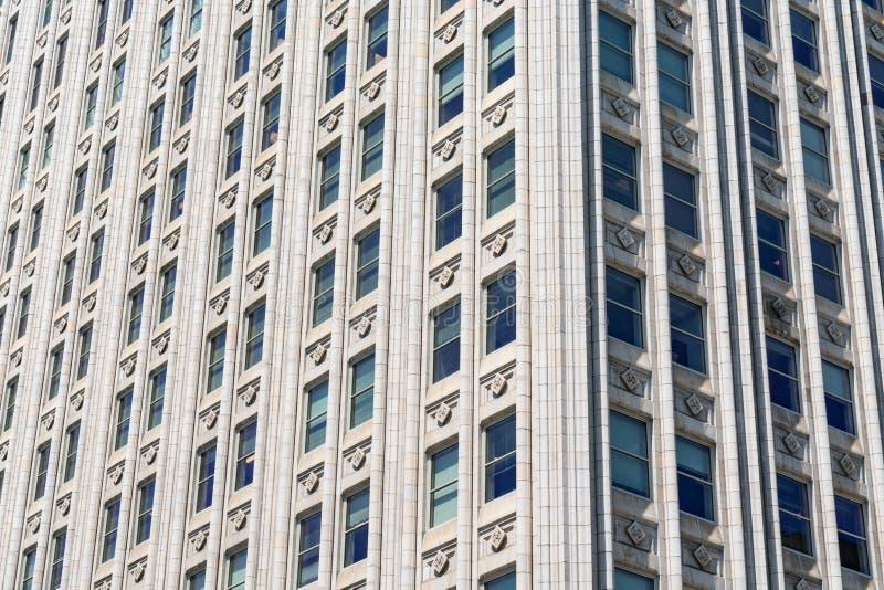 摩天大楼建筑细节  库存图片