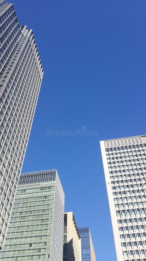 摩天大楼营业所,公司大厦Windows  免版税库存图片