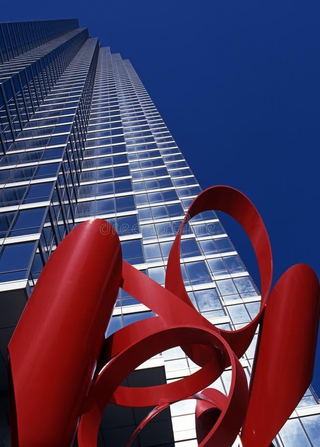 摩天大楼,达拉斯。 库存图片