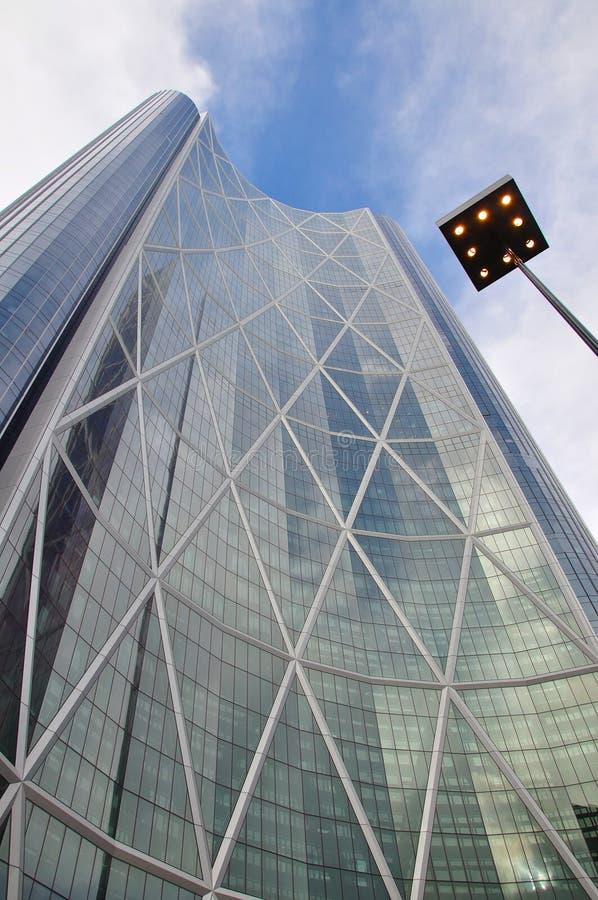 摩天大楼:弓 免版税库存照片