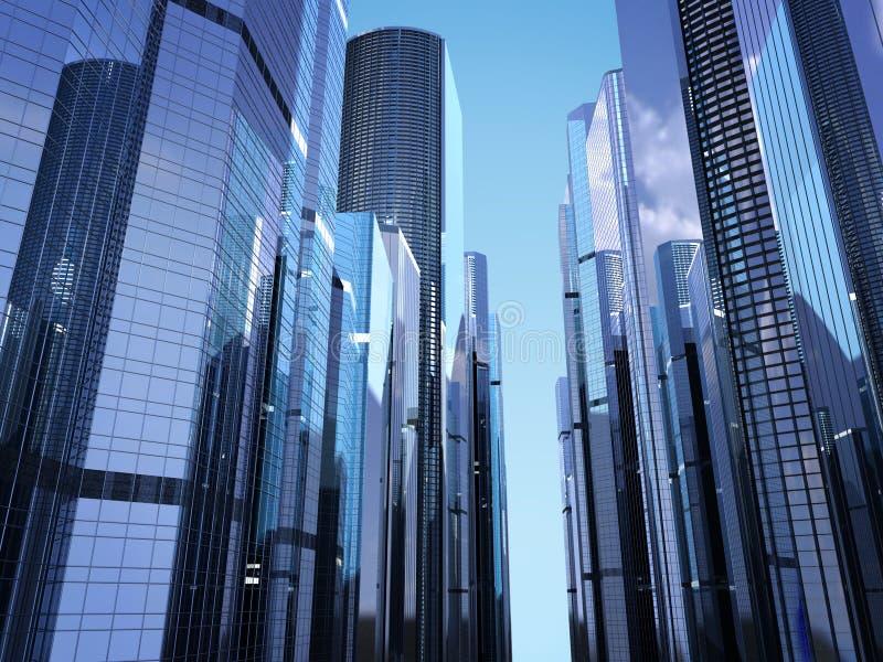摩天大楼 向量例证