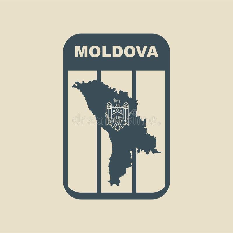 摩尔多瓦例证 皇族释放例证