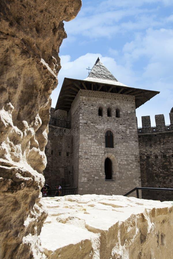 摩尔多瓦,堡垒在索罗卡 免版税库存图片