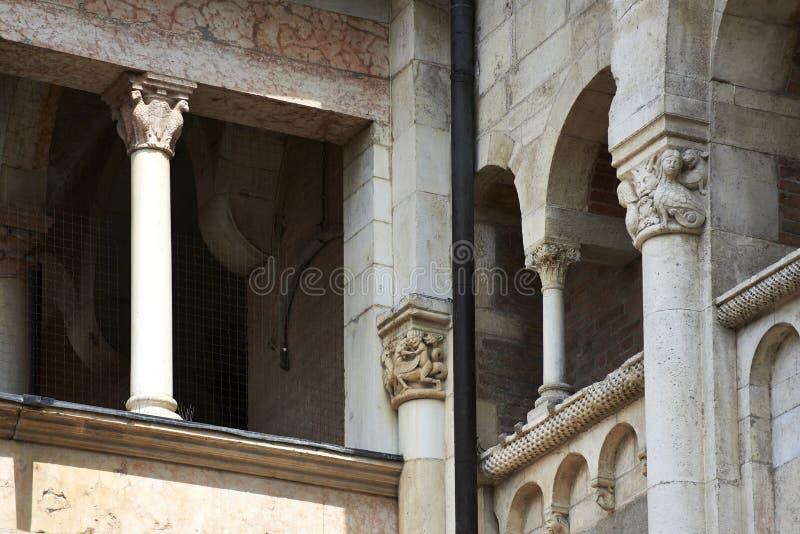摩德纳大教堂 免版税库存图片