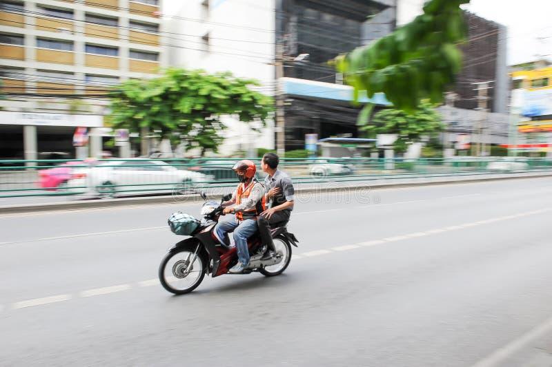 摩托车出租汽车在泰国 免版税库存图片