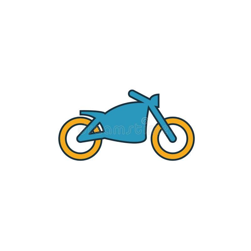 摩托车图标 Simple element from transport icons collection Creative Motcortor图标ui、ux、应用、软件和信息图形 库存例证