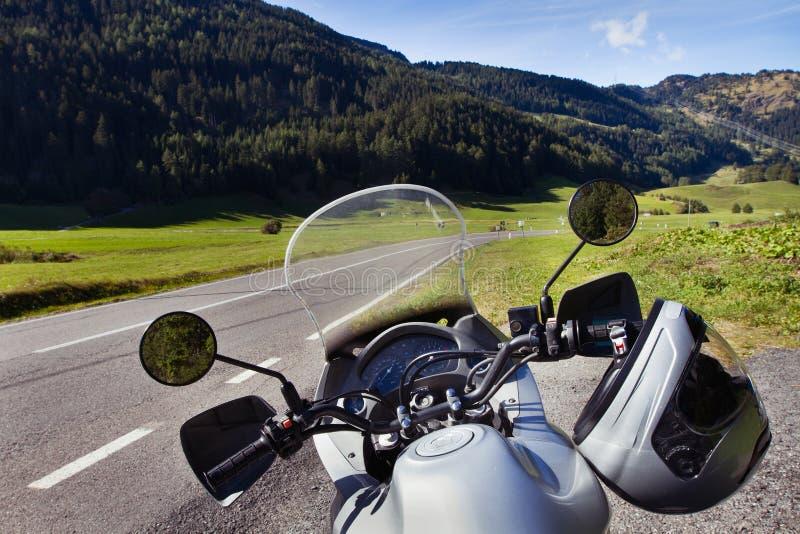 摩托车旅行 免版税库存照片