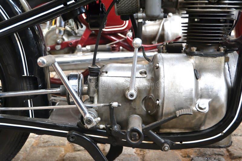 摩托车的细节 免版税库存图片