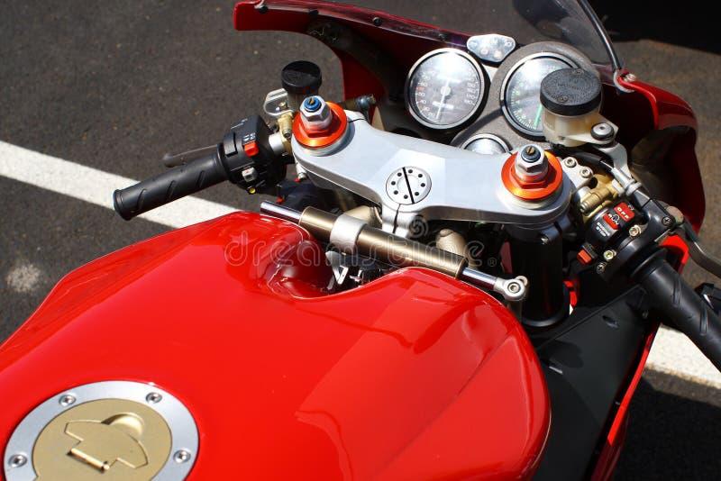 摩托车种族 免版税库存照片