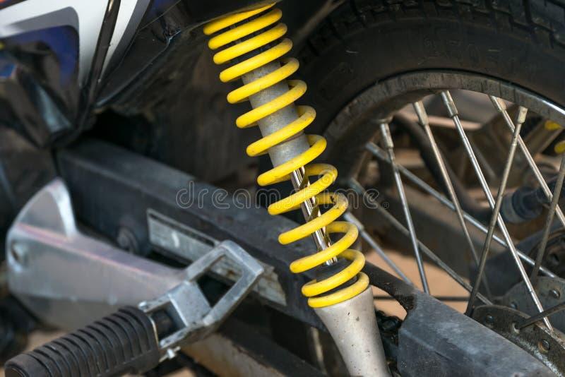 摩托车缓冲器 库存图片
