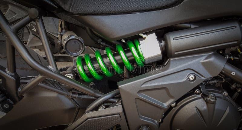 摩托车缓冲器 库存照片