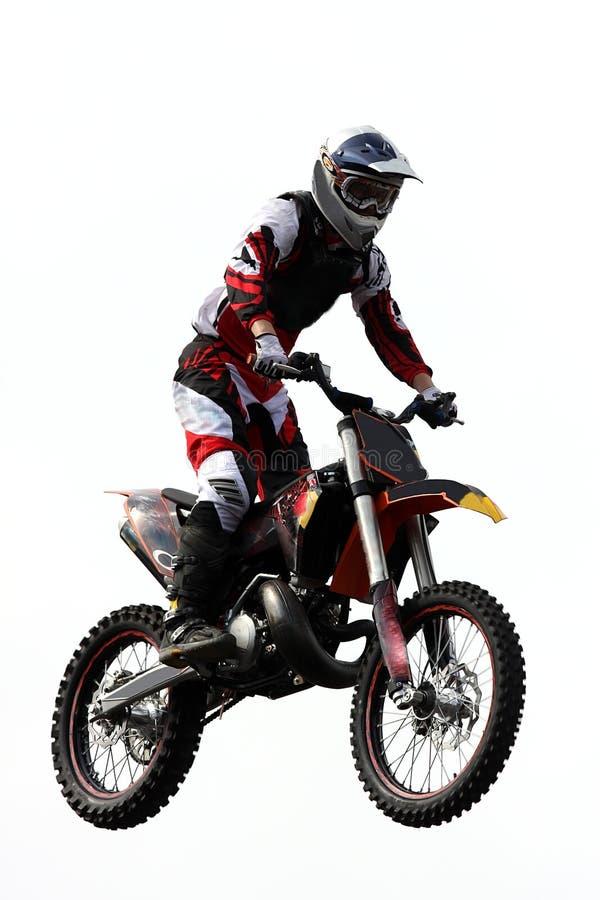 摩托车越野赛 图库摄影