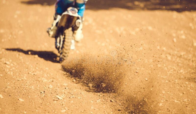 摩托车越野赛 库存照片