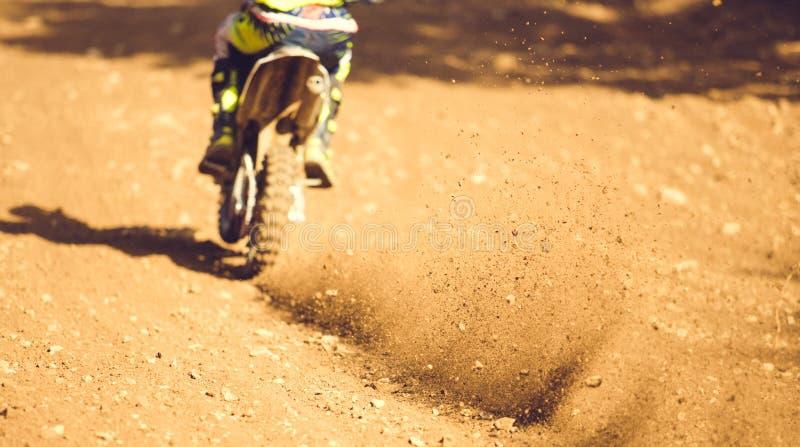 摩托车越野赛 免版税库存照片