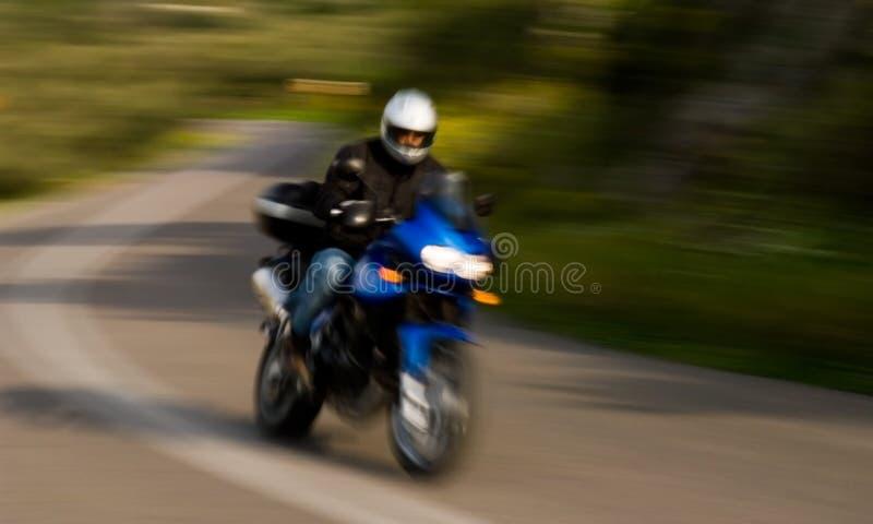 摩托车车手 图库摄影