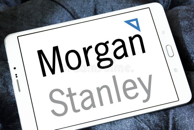 摩根士丹利商标 免版税库存照片