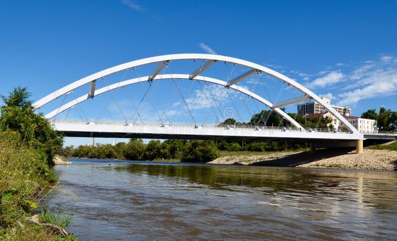 摩根街桥梁 免版税库存图片