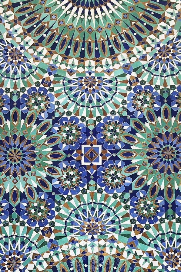 摩洛哥东方马赛克 库存图片